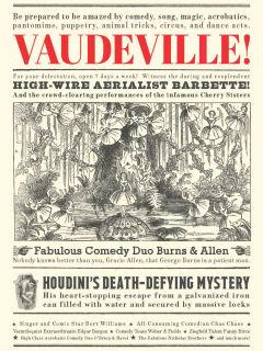 """""""Vaudeville!"""" Exhibition Tour"""