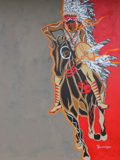 """Comanche Motion: The Art of Eric Tippeconnic"" opening reception"