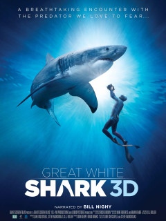 Great White 3D movie poster