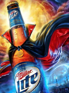 News_Caroline_hangover cures_Miller Lite_with cape