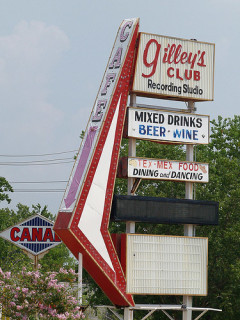 News_Gilley's Club_sign