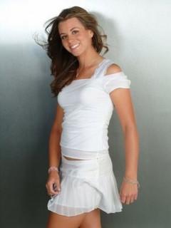 Erica Blasberg in skirt