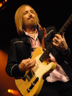 Tom Petty pink shirt