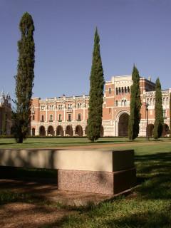 News_Rice University_Founders_bench