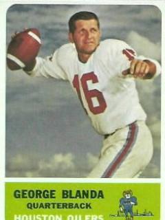 George Blanda Oilers