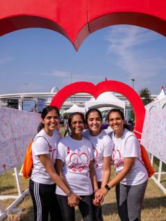 American Heart Association presents Dallas Heart Walk