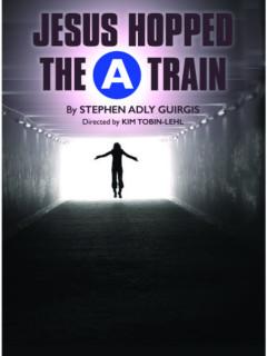 """Jesus Hopped The """"A"""" Train"""