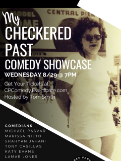 Checkered Past Winery presents My Checkered Past Comedy Showcase