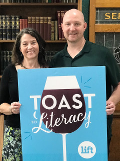 Literacy Instruction for Texas presents Toast to Literacy