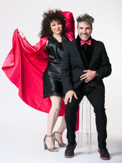 Amanda Miguel and Diego Verdaguer