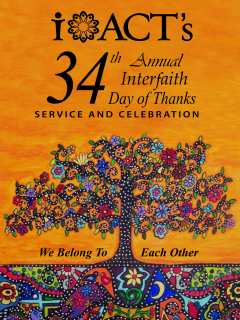 34th Annual Interfaith Day of Thanks Service & Celebration