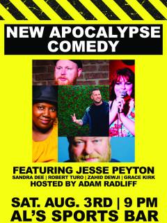 New Apocalypse Comedy Showcase