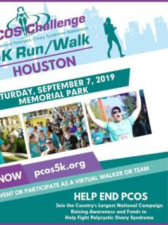 Houston PCOS Challenge 5K Run/Walk 2019