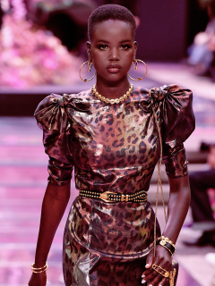CURLS On The Runway Fashion Show