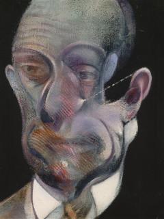 Francis Bacon Museum of Fine Arts, Houston Study for Portrait Michel Leiris