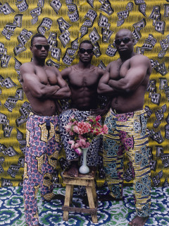 """""""Through an African Lens: Sub-Saharan Photography from the Museum's Collection"""" opening day"""