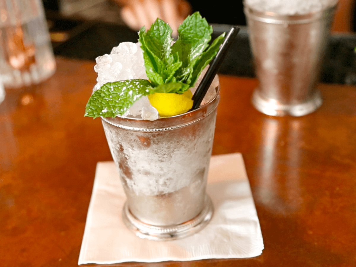 Houston, Julep Bar, July 2015, Mint Julep
