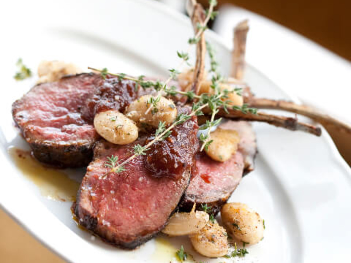 Lamb Chops at RDG + Bar Annie