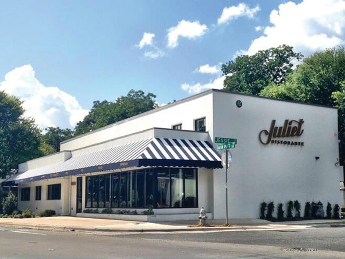 Juliet Ristorante_Austin restaurant_Barton Springs_exterior_2015