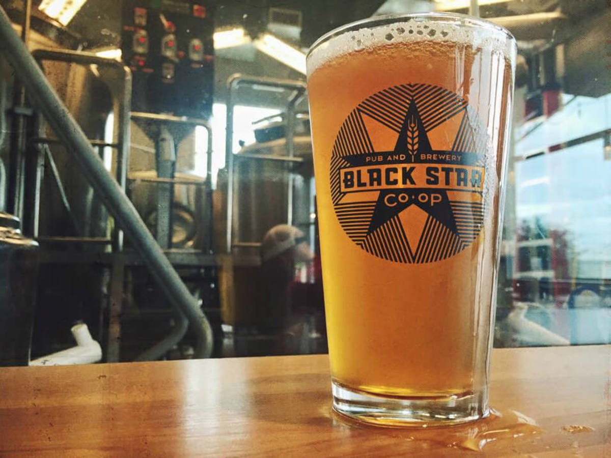 Black Star Co-op brewery pub Austin restaurant beer bar 2015