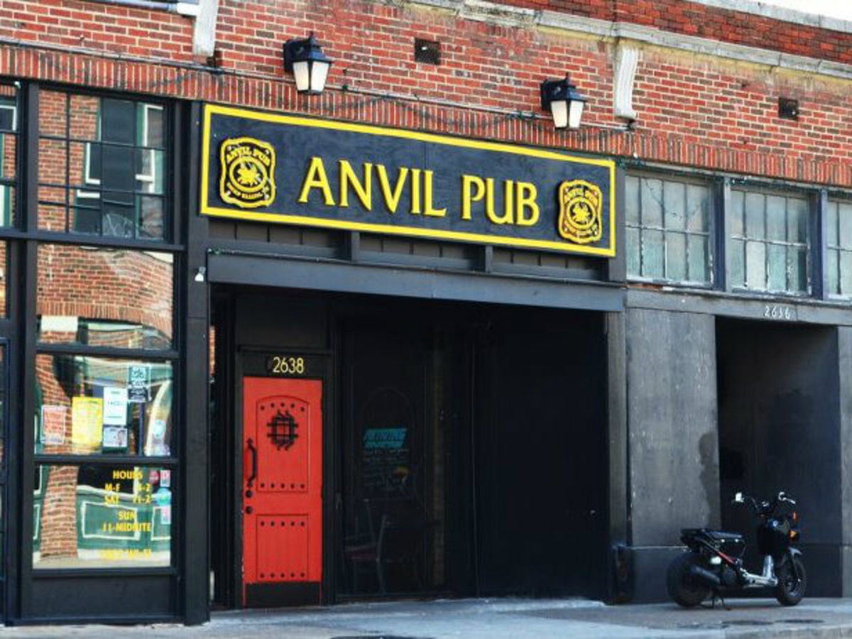 Anvil Pub in Deep Ellum