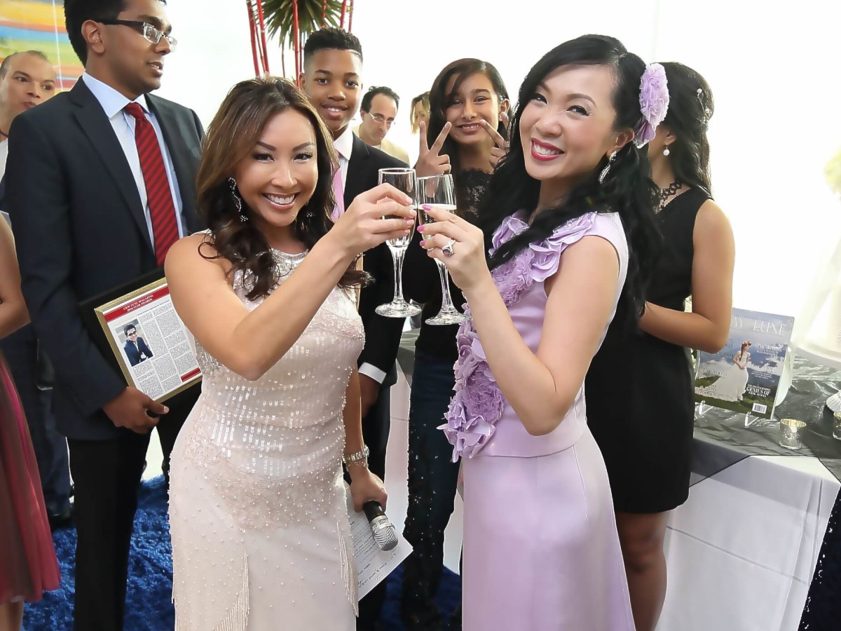 CKW Luxe Star Awards 6/16 Lily Jang, Connie Kwan-Wong
