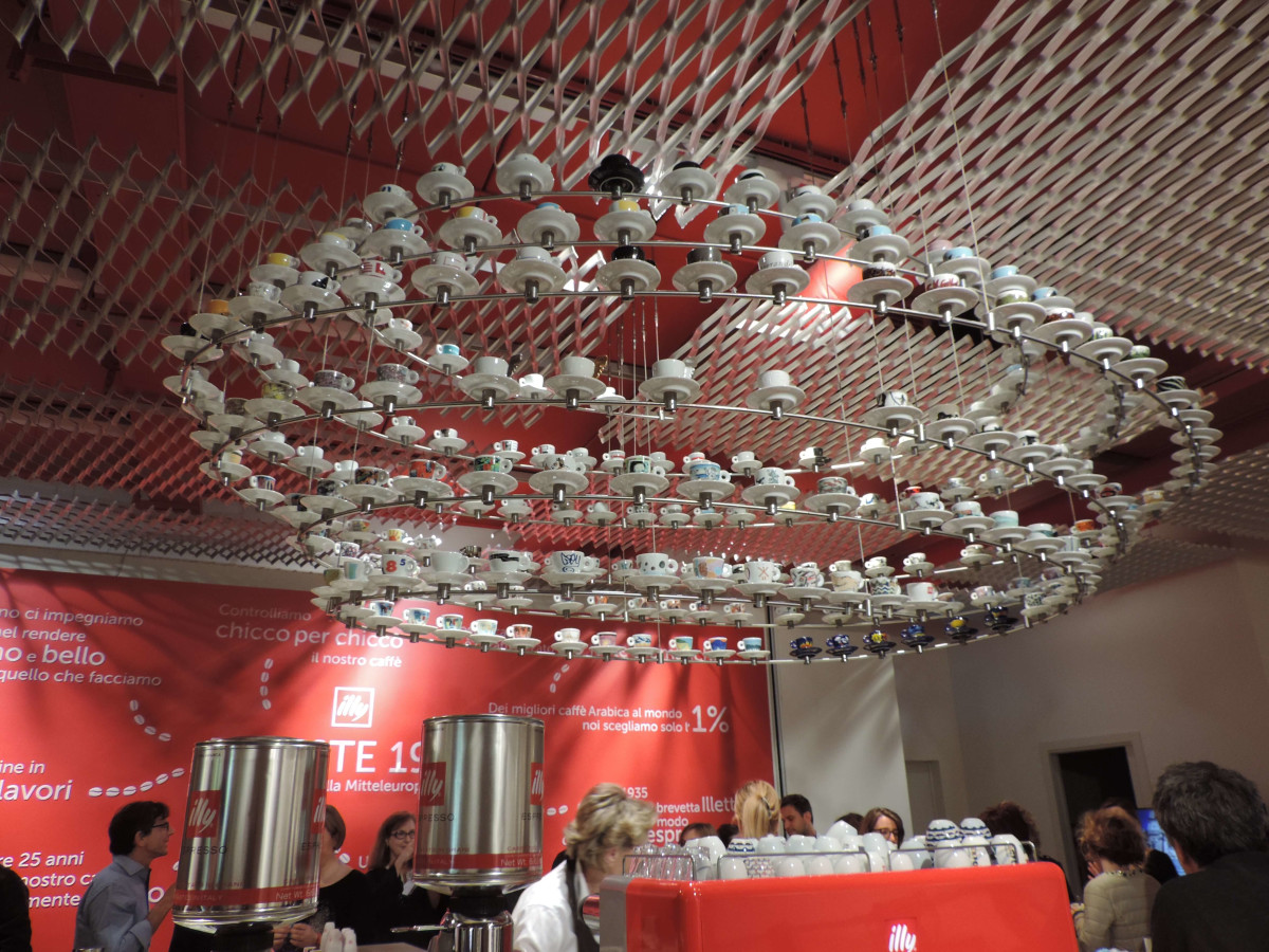 illy coffee/Trieste, Italy