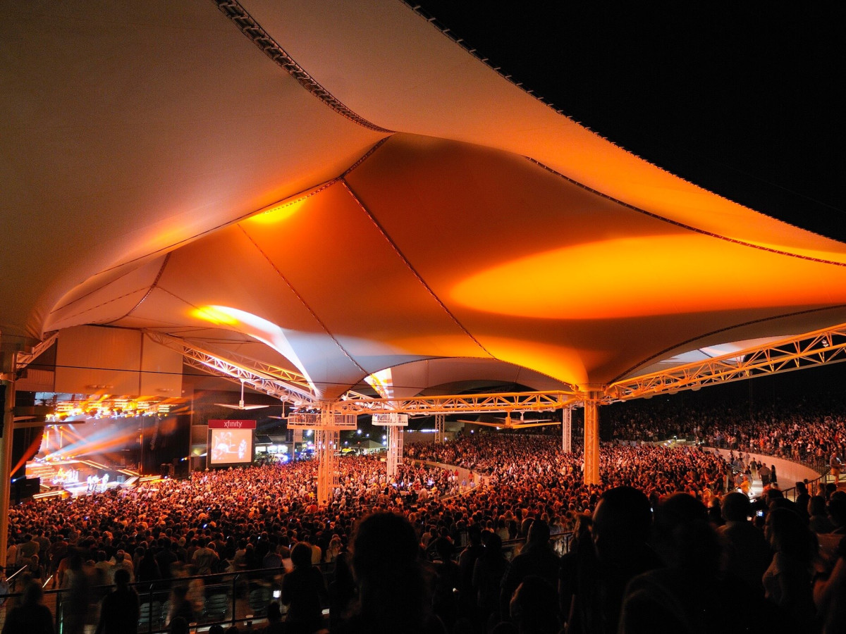 Cynthia Woods Mitchell Pavilion in The Woodlands