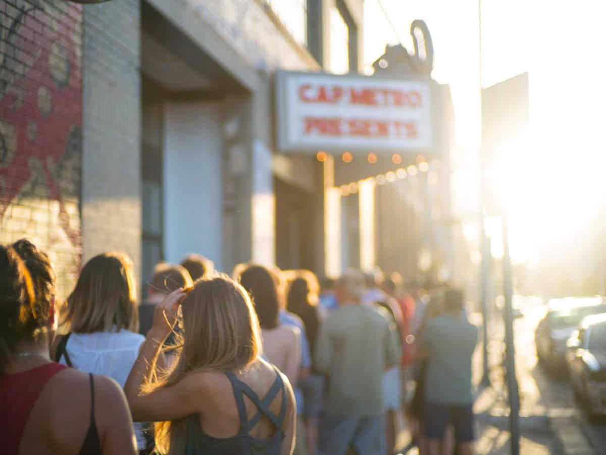 Gary Clark Jr. Antone's show crowd line