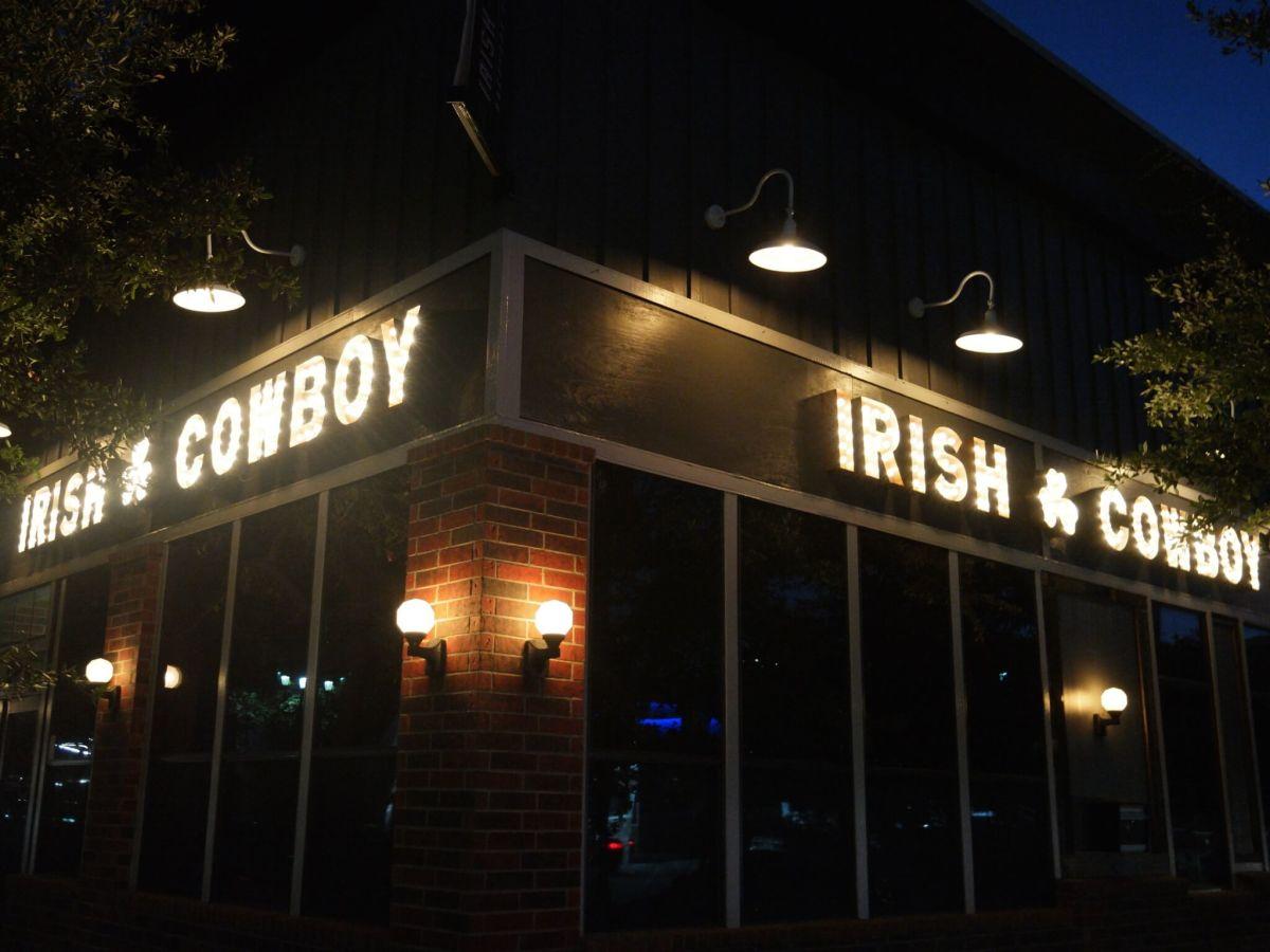 Irish Cowboy night exterior