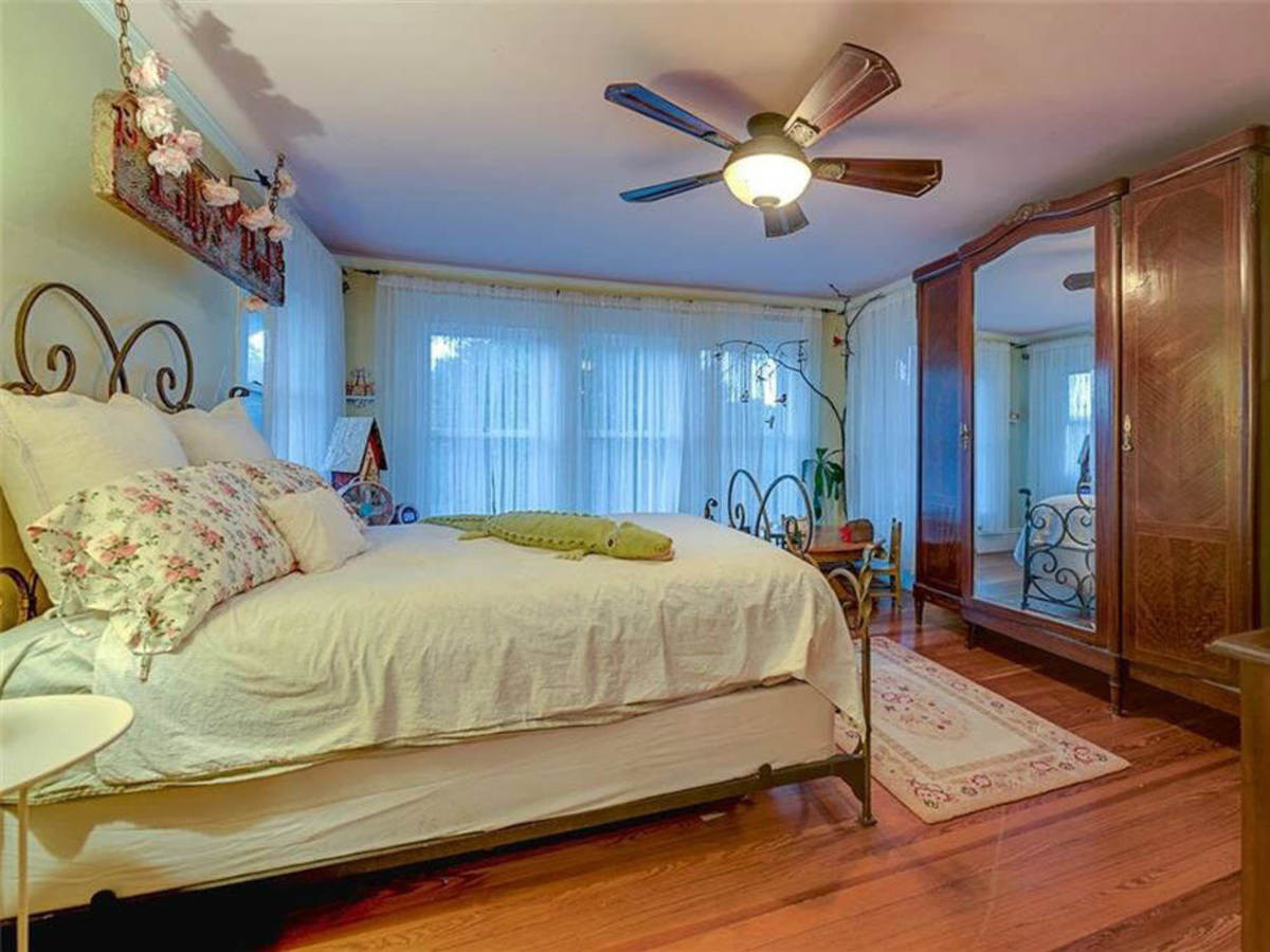 Bedroom at 701 S. Clinton Ave. in Oak Cliff