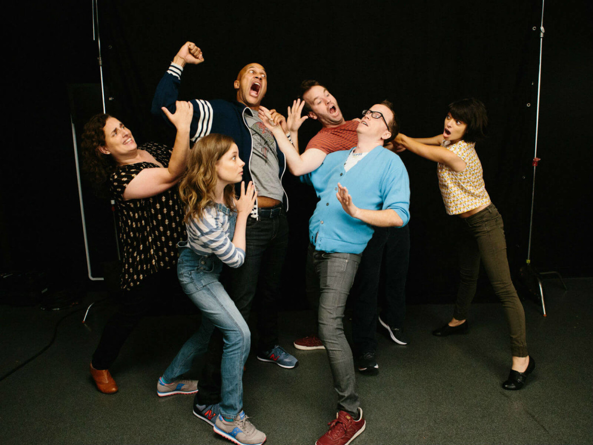 Cast of Don't Think Twice