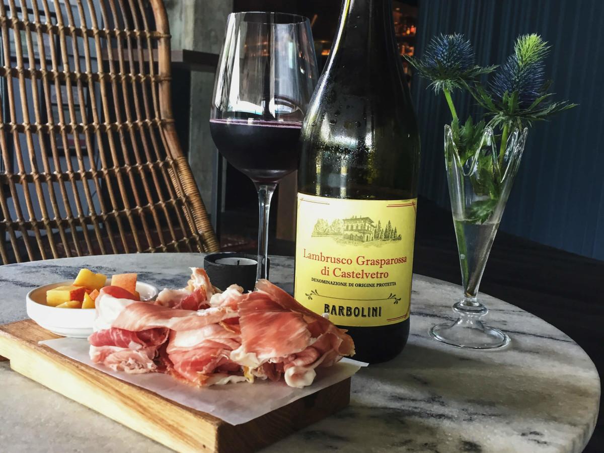 Juniper restaurant Austin wine charcuterie