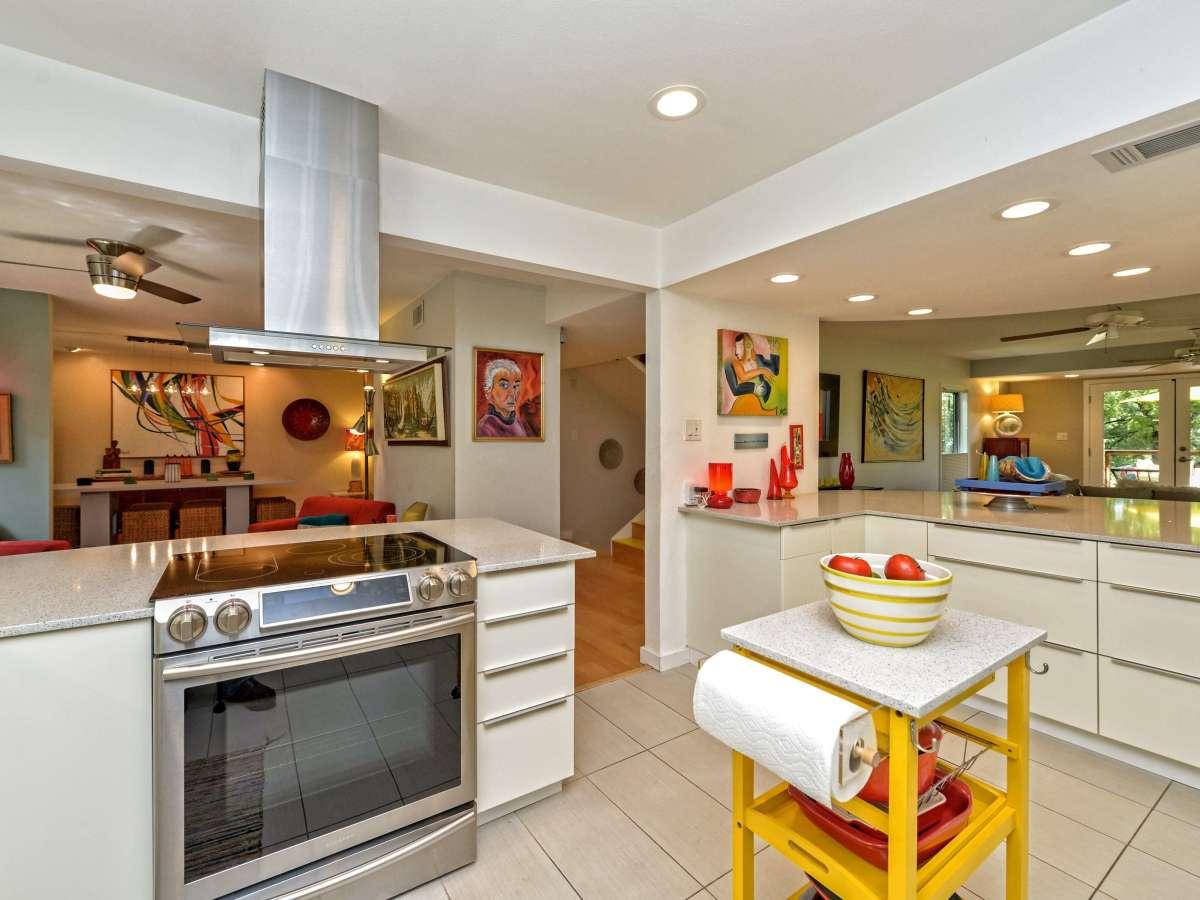 Austin home house 5932 Highland Hills Dr 78731 kitchen