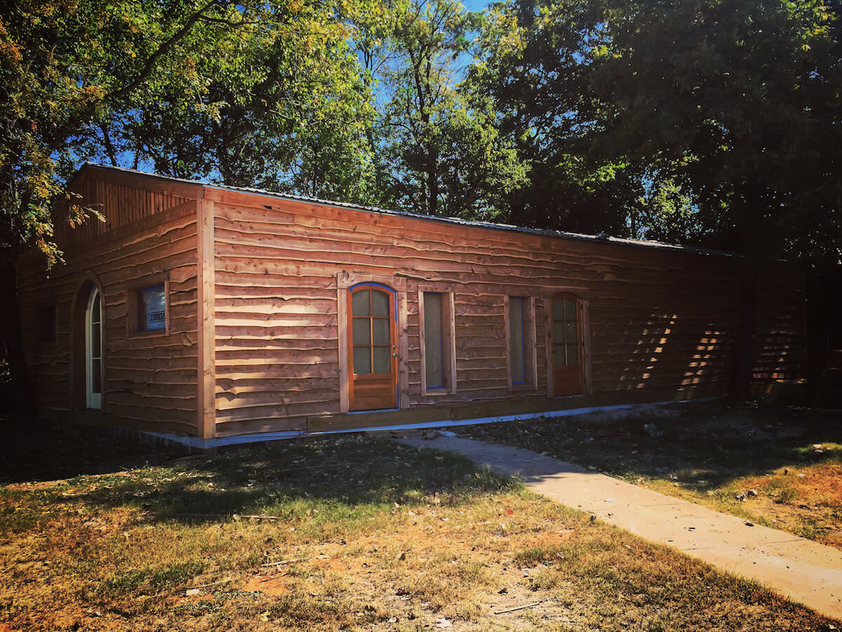 The Buzz Mill Homestead south Austin exterior