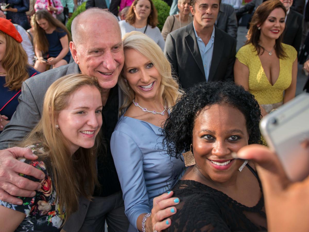 Ben-Hur premiere, Aug. 2016, Kelly Krohn, Tracy Krohn, Laurie Krohn, Erica Davis