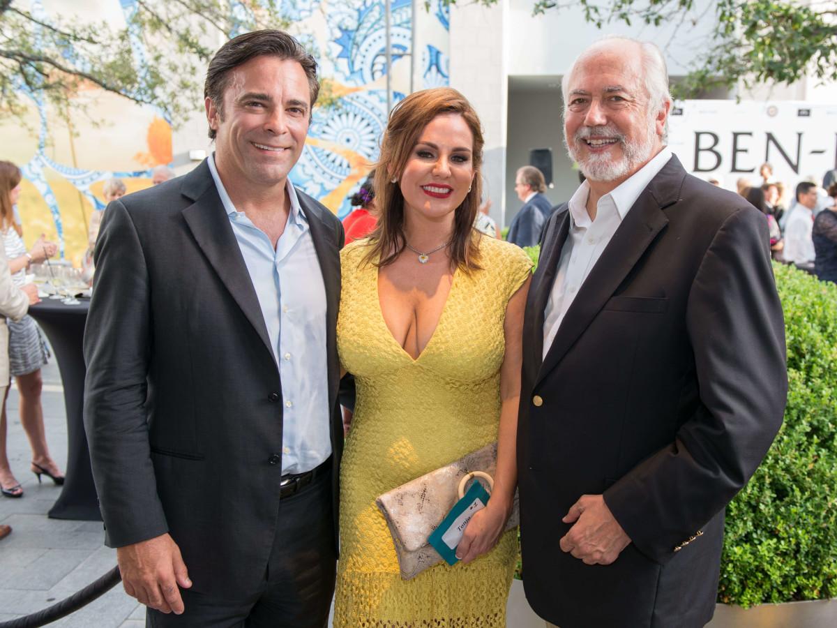 Ben-Hur premiere, Aug. 2016, Michael Torres, Tonja Oria, Jerald Broussard