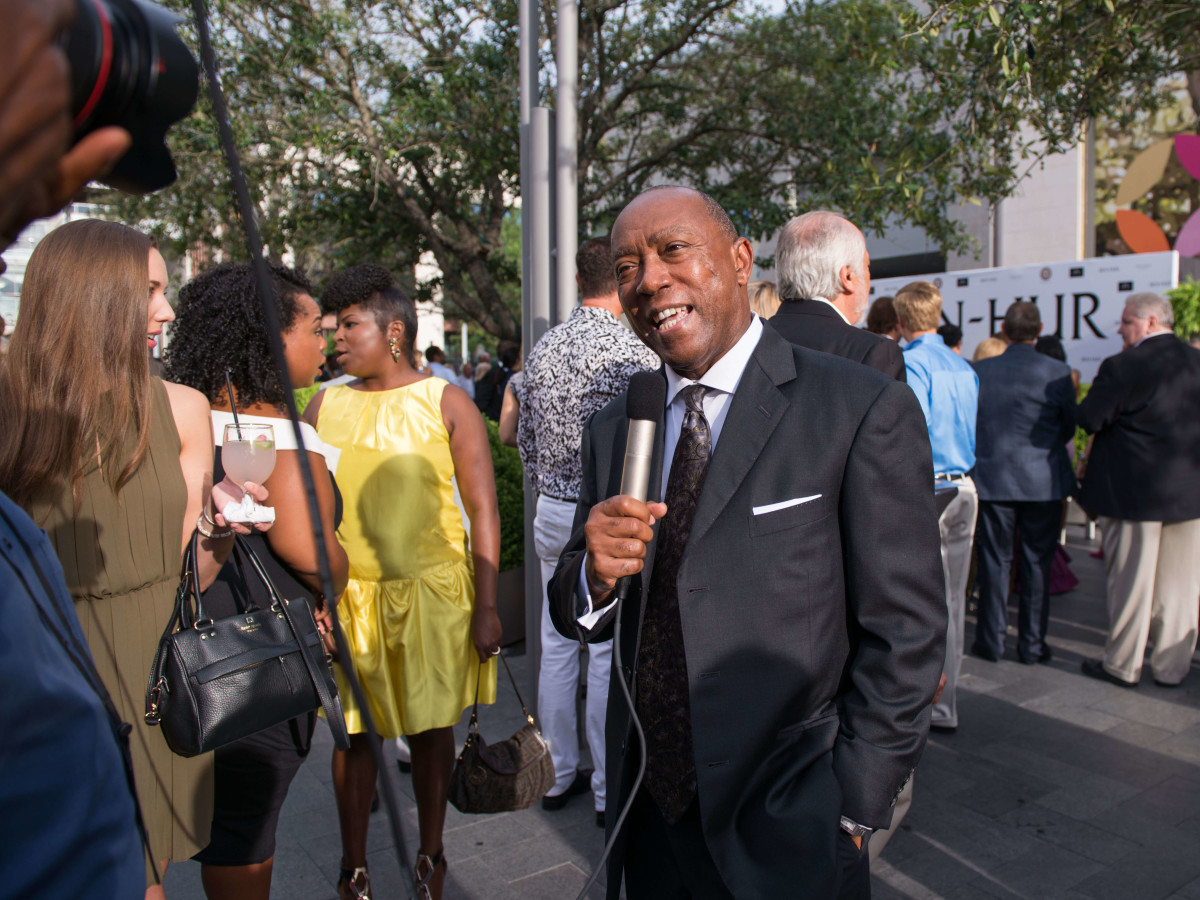 Ben-Hur premiere, Aug. 2016,Mayor Sylvester Turner
