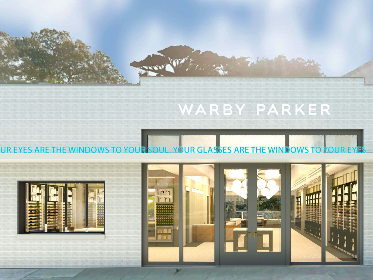 Warby Parker Austin South Congress exterior
