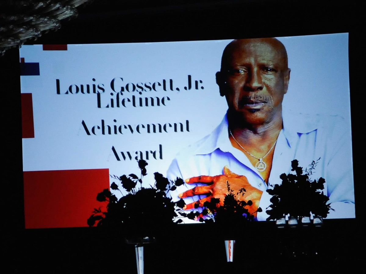 Ensemble Theatre gala, 8/16, Lou Gossett Jr. Award