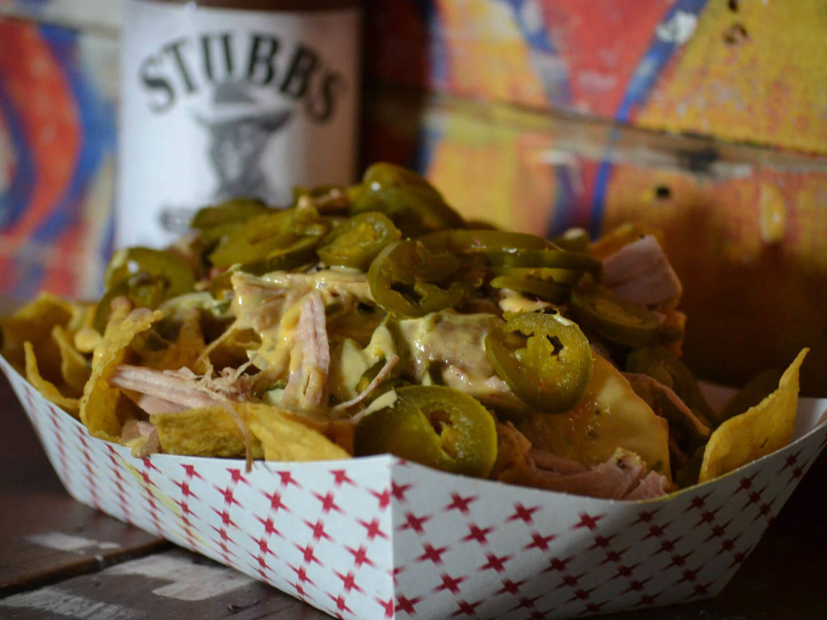 Stubb's Bar-B-Q barbecue bbq nachos