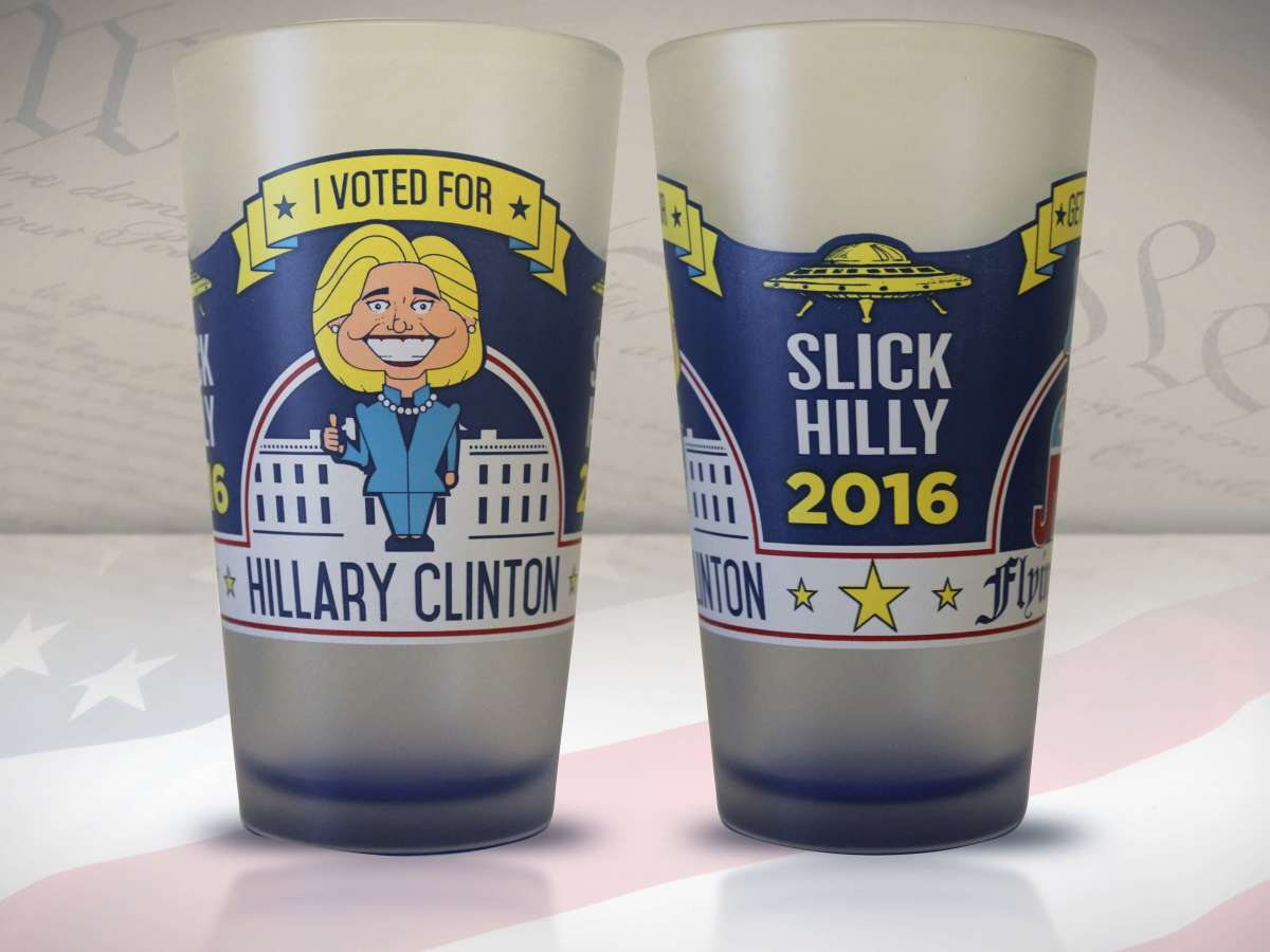 Hillary beer glass
