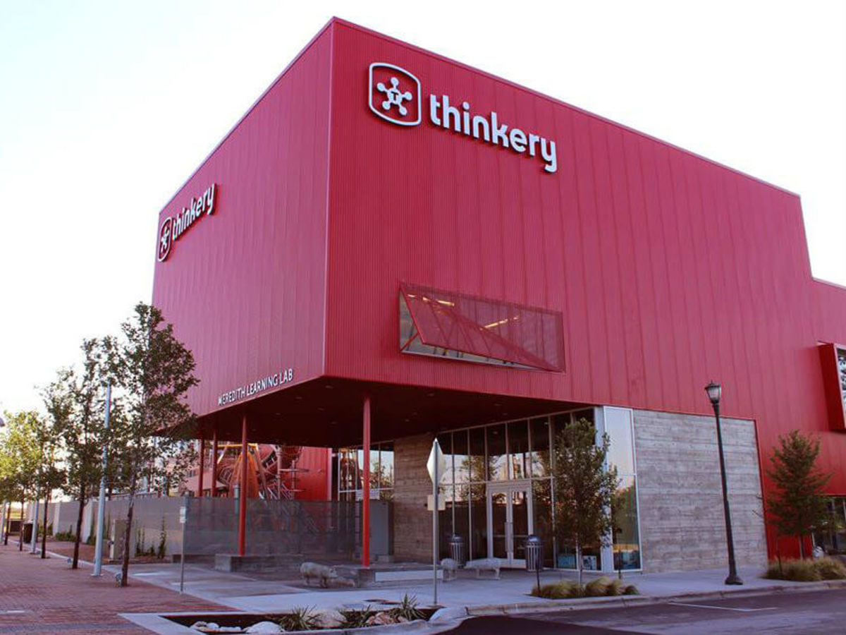 exterior of The Thinkery or the New Austin Children's Museum
