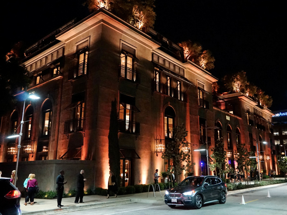 Rh Austin opening party Restoration Hardware 2016