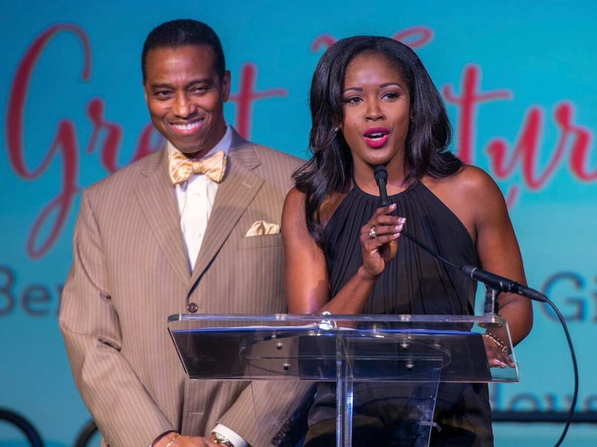 Boys & Girls Club dinner, 9/16 : Khambrel Marshall, Tashara Parker