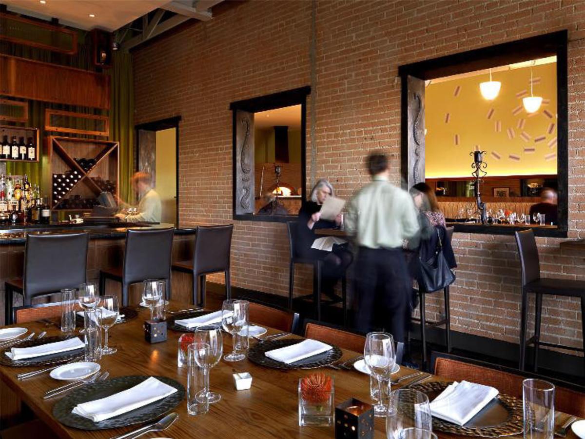Interior of Nonna Italian restaurant in Dallas