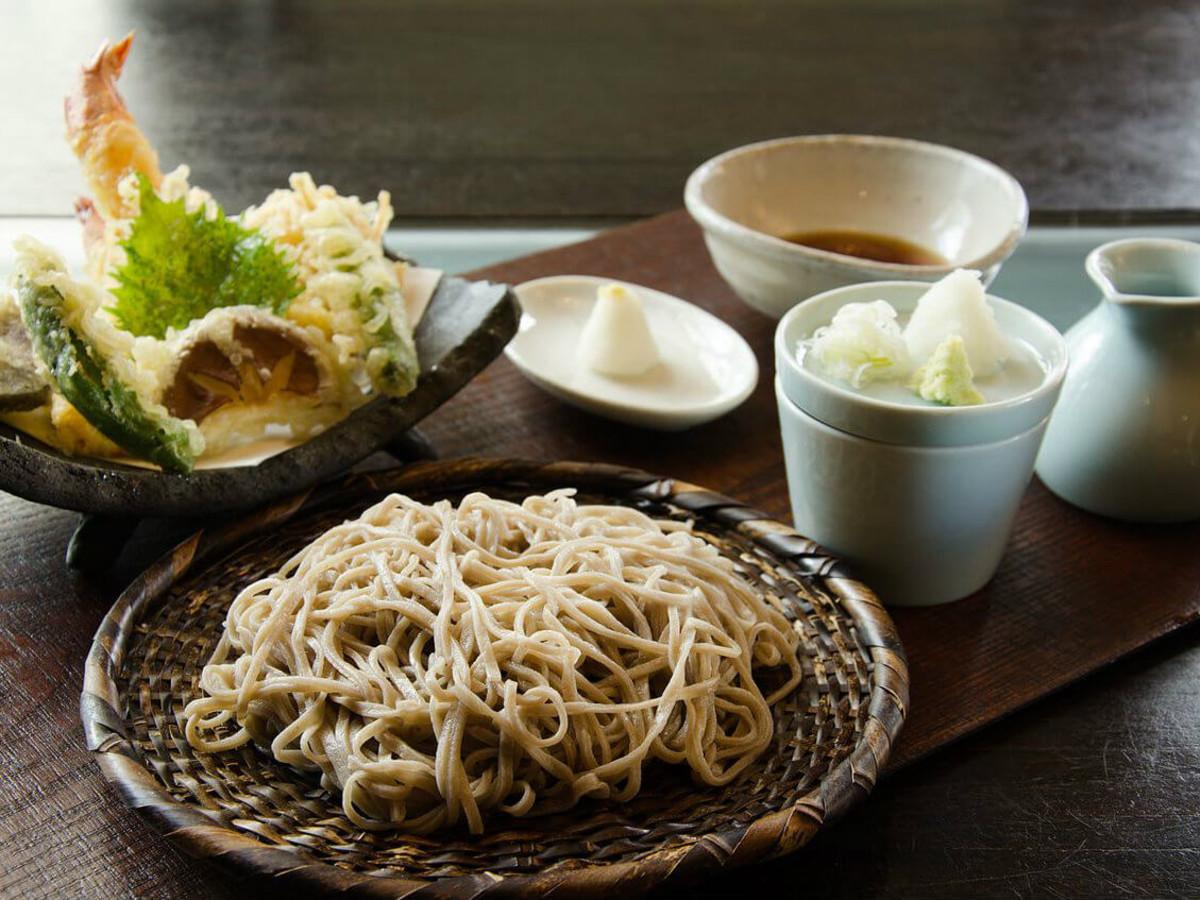Noodles tempura from Tei-An restaurant in Dallas