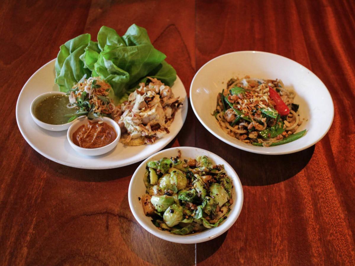 Sway Thai Restaurant Austin fall menu 2016