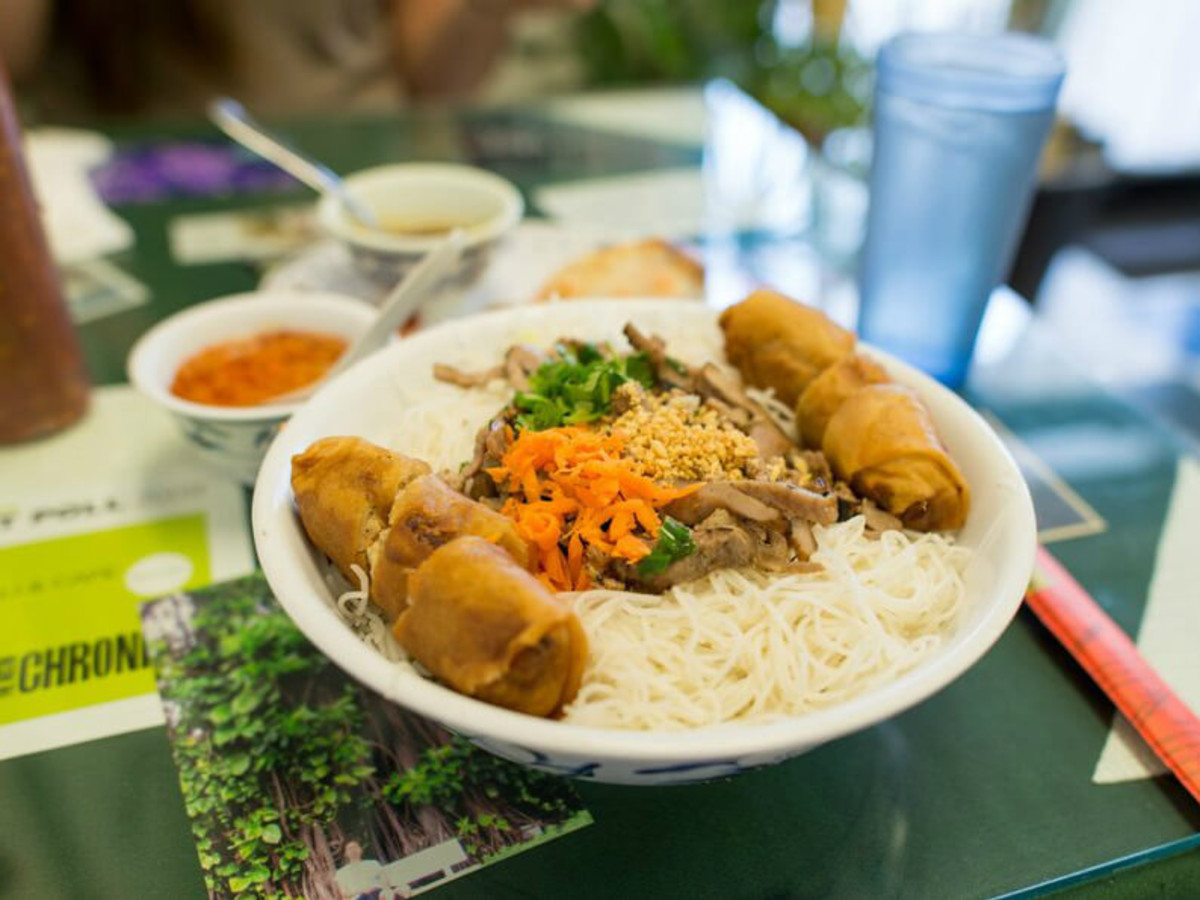 Tam Deli and Cafe restaurant Austin pork vermicelli