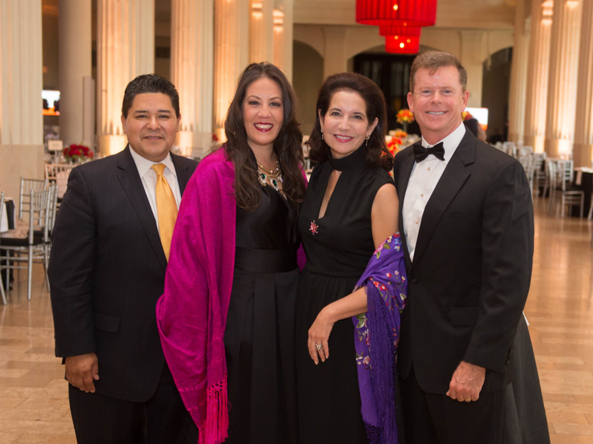 Houston Symphony Opener, 9/16, Richard Carranza, Monique Garcia, Janet Moore, Harvin Moore